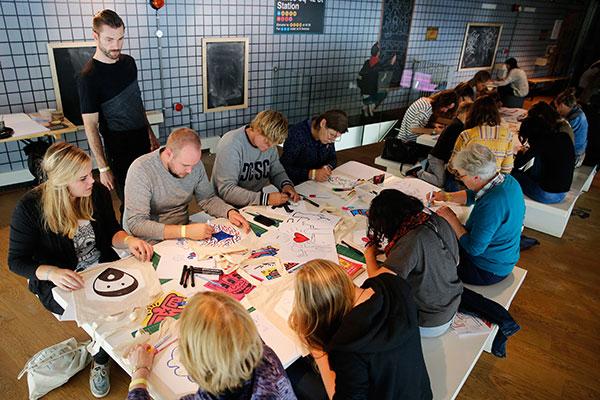 Keith-Haring-Weekend_10-okt-2015_Kunsthal-Rotterdam_foto-Bas-Czerwinski-(2)