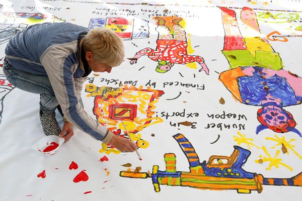 Keith-Haring-Weekend_10-okt-2015_Kunsthal-Rotterdam_foto-Bas-Czerwinski-(35)