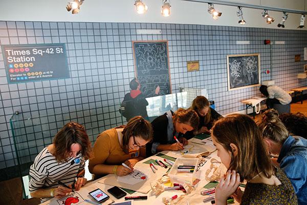 Keith-Haring-Weekend_10-okt-2015_Kunsthal-Rotterdam_foto-Bas-Czerwinski-(62)
