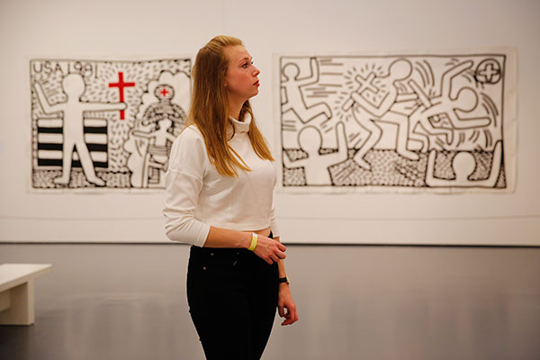 Keith-Haring-Weekend_10-okt-2015_Kunsthal-Rotterdam_foto-Bas-Czerwinski-(9)