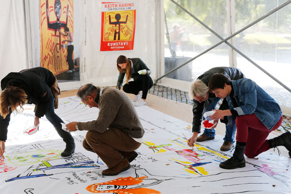 Keith-Haring-Weekend_11-okt-2015_Kunsthal-Rotterdam_Foto-Bas-Czerwinski-(9)