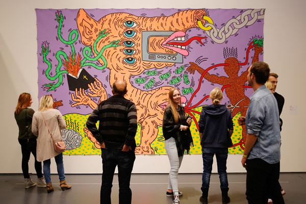 Keith-Haring-Weekend_10-okt-2015_Kunsthal-Rotterdam_foto-Bas-Czerwinski-(68)